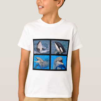 Dolphins and killer whales T-Shirt