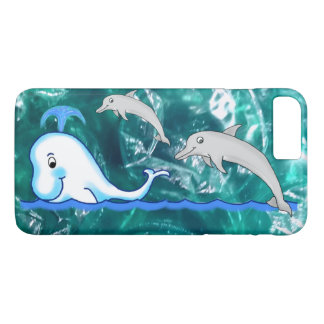 Dolphin's and Whale Colorful Phone Cover
