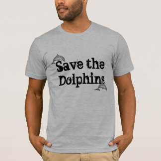 Dolphins are for Oceans T-Shirt