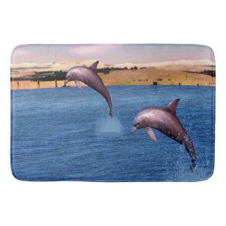 Dolphins Bath Mat