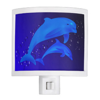 Dolphins blue night lites