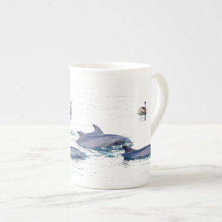 Dolphins Bone China Cup