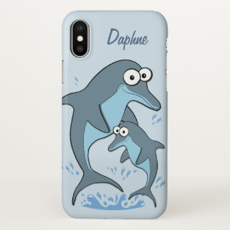 Dolphins Custom iPhone X Case