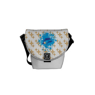 Dolphins Delight Messenger Bag