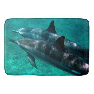 Dolphins in Hawaii. Bath Mat