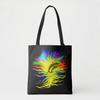 Dolphins in the Sunshine Tote Bag