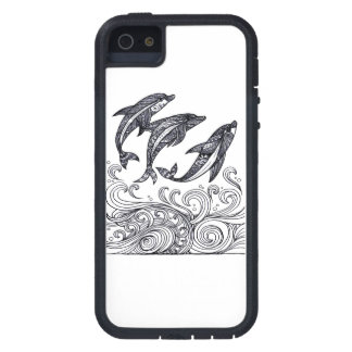 Dolphins Jumping Case For The iPhone 5
