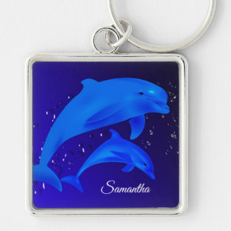 Dolphins Keychain