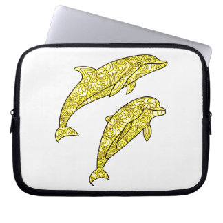 Dolphins Laptop Sleeve