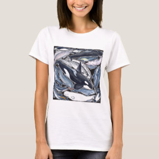 Dolphins, orcas, belugas and narvales T-Shirt