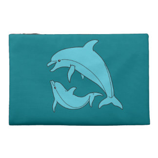 Dolphins sporran/case travel accessory bag