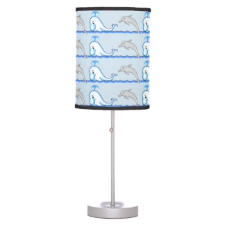 Dolphins & Whales Lamp