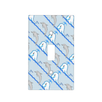 Dolphins & Whales Light Switch Cover
