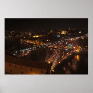Dom Luis Iron Bridge in Porto Poster
