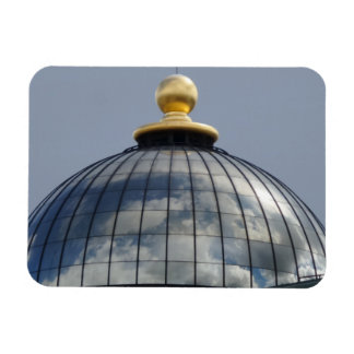 "Dome & Clouds 3""x4"" Magnet"
