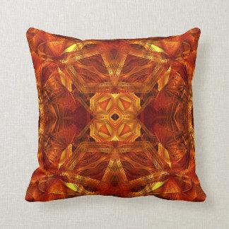 Dome Mandala (red) Pillow