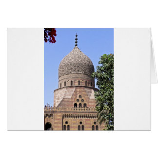 Dome of a mosque in Cairo Card