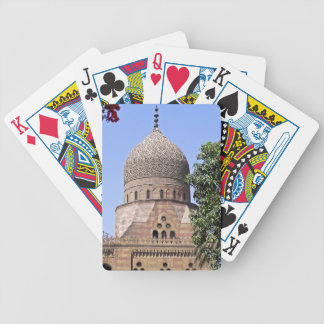 Dome of a mosque in Cairo Poker Deck