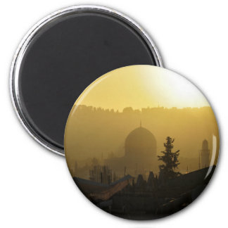 Dome of the Rock 2 Inch Round Magnet