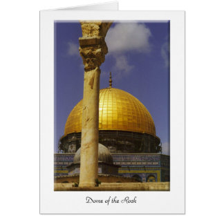 Dome of the Rock Card