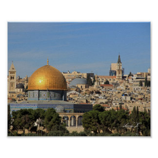 Dome of the Rock in Israel Canvas Print