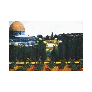 Dome of the Rock, Jerusalem Canvas Print