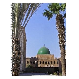 Dome of the Sultan Ali mosque in Cairo Notebooks