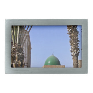 Dome of the Sultan Ali mosque in Cairo Rectangular Belt Buckle