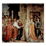 Domenico Beccafumi - Marys marriage to Joseph Poster