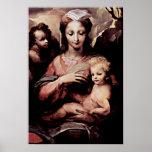 Domenico di Pace Beccafumi - Madonna Poster