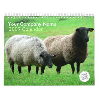 Domestic Animals Wall Calendar