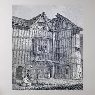 Domestic Architecture, 1791 Poster