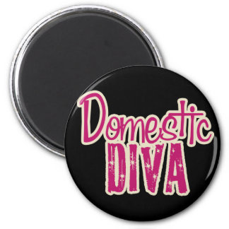 Domestic Diva Vintage Chic Magnet
