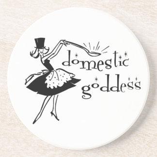 Domestic Goddess Coaster