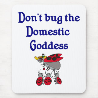 Domestic Goddess Mouse Pad