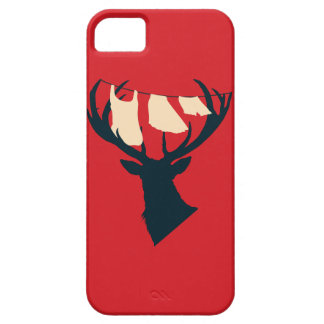 Domestic Stag iPhone 5 Case
