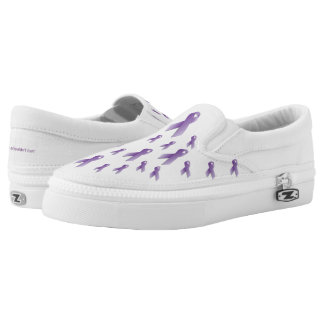 Domestic Violence Awareness Slip on Shoes