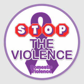 Domestic Violence Awareness Sticker