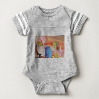 Domestic Violence Baby Bodysuit