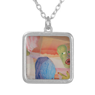 Domestic Violence Silver Plated Necklace