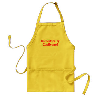 Domestically Challenged Standard Apron