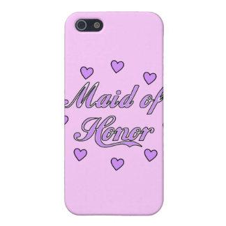 Domestique des coeurs de mariage d'honneur coques iPhone 5