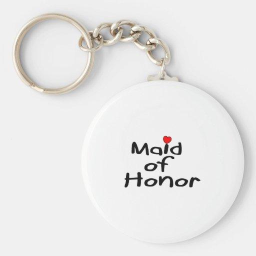 Domestique d'honneur porte-clés