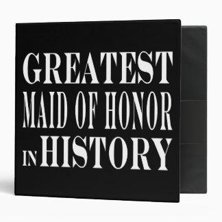 Domestiques d'honneur : La plus grande domestique