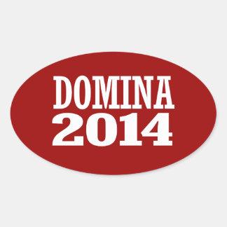 DOMINA 2014 OVAL STICKERS