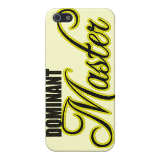 Dominant Master iPhone 5/5S Case