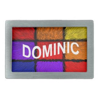 DOMINIC BELT BUCKLE