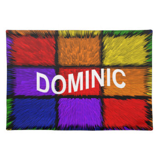 DOMINIC PLACEMAT
