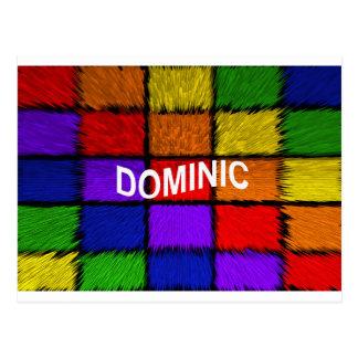 DOMINIC POSTCARD