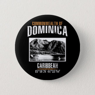 Dominica 2 Inch Round Button